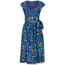 Piccalilly Adult Wildlife Wrap Dress