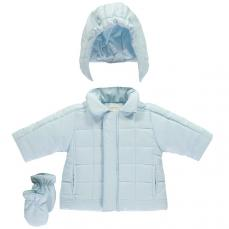 Emile et Rose 'Liam' Blue Padded Jacket