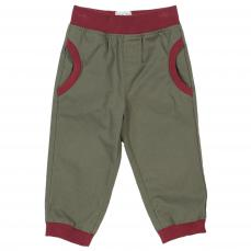 Kite Boys Cuff Pull Up Trousers Sage