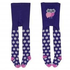 Kite Girls Spotty Tights Purple