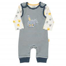 Kite Stripy Unisex Dungaree Set