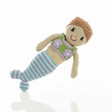 Best Years Pebble Crochet Mermaid Doll