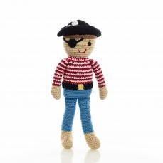 Best Years Pebble Crochet Pirate Doll