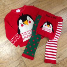 Blade & Rose Christmas Penguin Winter Set