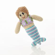 Best Years Pebble Crochet Mermaid Rattle