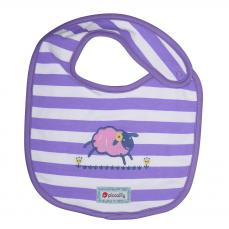 Piccalilly Farm Train Reversible Bib