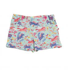 Piccalilly Pretty Girls Shorts Horse Print