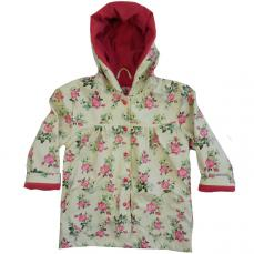 Powell Craft Rose Floral Raincoat