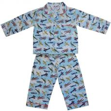 Powell Craft Douglas Vintage Aeroplane Pyjamas