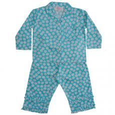 Powell Craft Daisy Print Pyjamas