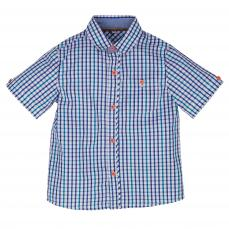 Little Lord & Lady Otto Gingham Small Check Shirt