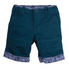 Little Lord & Lady Buster Racing Green Shorts