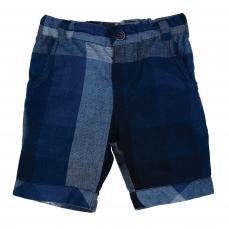 Little Lord & Lady Biggles Blue Checked Short