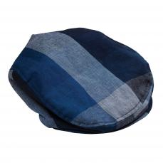 Little Lord & Lady Biggles Blue Check Flat Cap