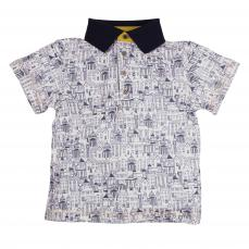 Little Lord & Lady Little Treasure Noah Bespoke London Print Polo