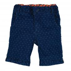 Little Lord & Lady Little Treasure Digby Blue Spot Shorts