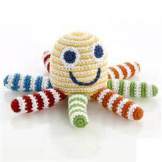 Best Years Pebble Crochet Octopus Cheerful Stripes