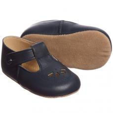 Early days Navy Robin Pram Shoe