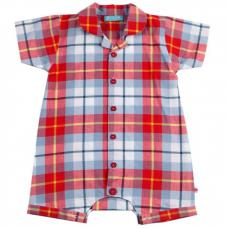 Piccalilly Wham Check Romper