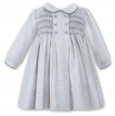 Sarah Louise Girls Winter Grey Spanish Dress 011008