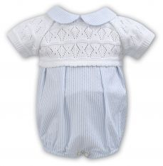 Sarah Louise Boys Summer Knit & Material Bubble 011121