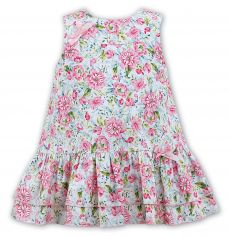 Sarah Louise Summer A-line Floral Dress 011592