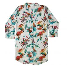 Powell Craft Turquoise Hummingbird Ladies Nightshirt
