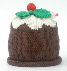 Merry Berries Christmas Pudding Hat