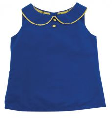 Little Lord & Lady Little Treasure Margot Blue Blouse