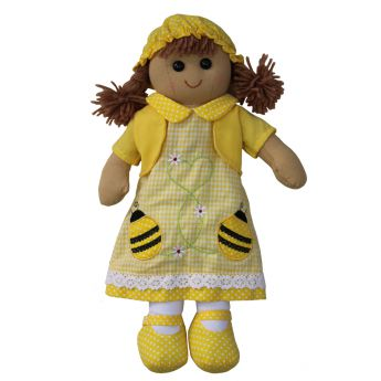 Powell Craft Rag Doll Bumble Bee