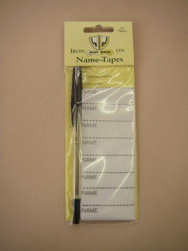 Iron On Name Tape Kit
