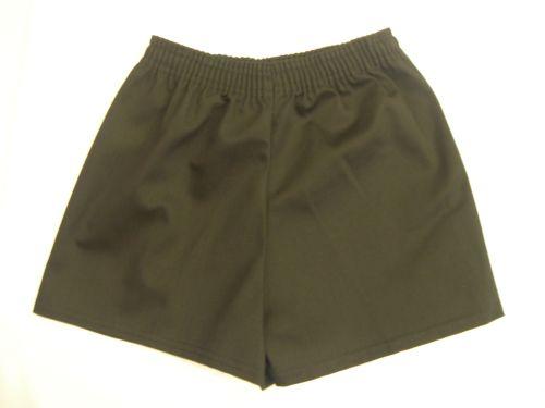 School Cotton Football Shorts: 18-20